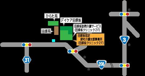 田原坂指定 居宅介護支援事業所 地図